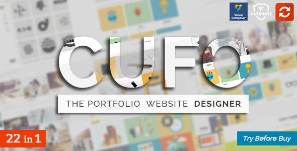 11 - Cufo - Responsive WordPress Portfolio Theme