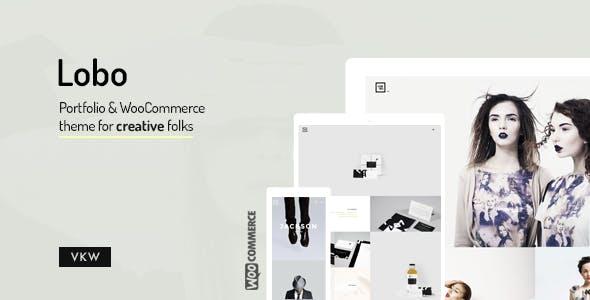 12 - Lobo - WordPress Portfolio for Freelancers & Agencies