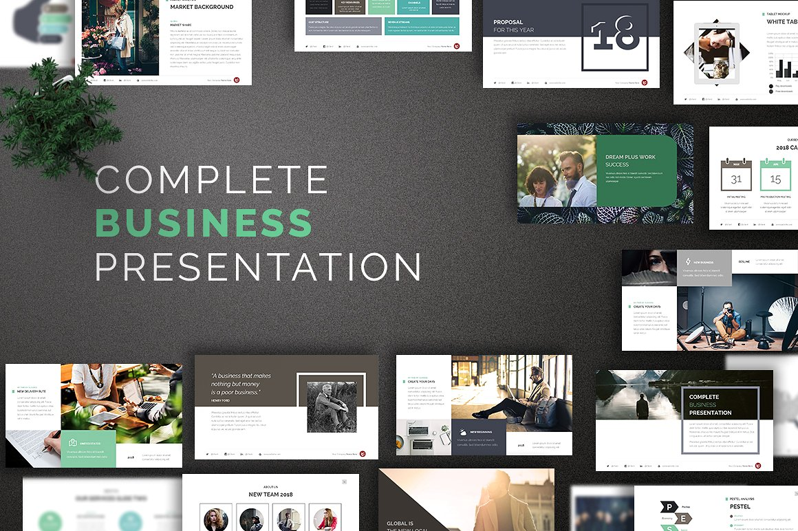 16. Business PowerPoint Template