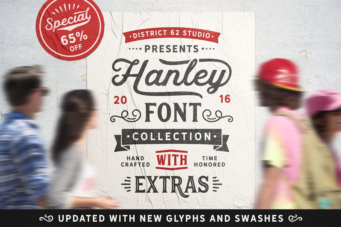 16. Hanley Font Collection