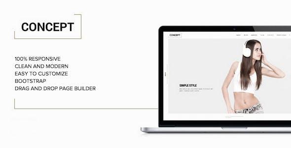 17 - Concept - Minimal WordPress Portfolio Theme