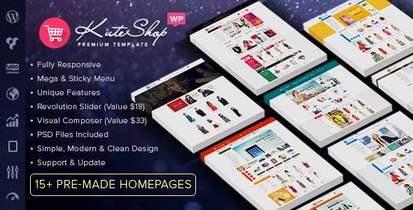 17 - KuteShop - Multipurpose WooCommerce WordPress Theme