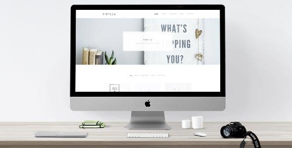 21 - Sibylla - WordPress Portfolio Theme