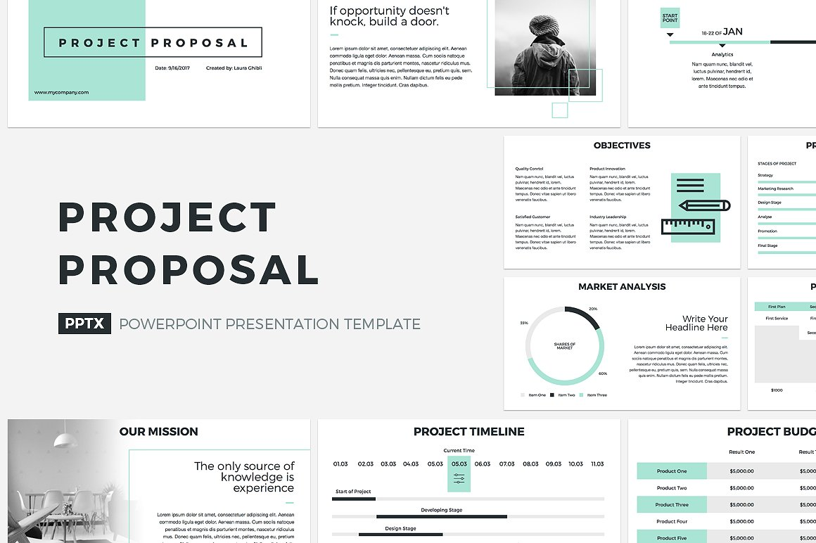 21. Project Proposal PowerPoint Template