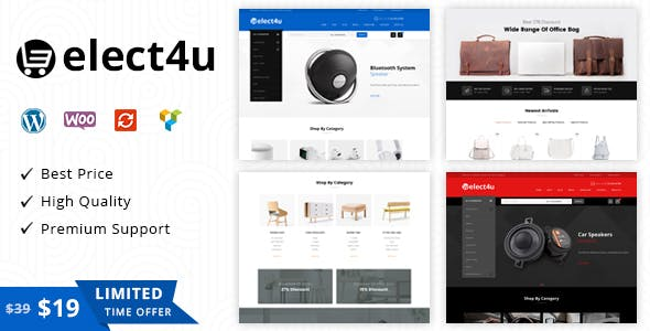 22 - Elect4u - Multipurpose WooCommerce Theme