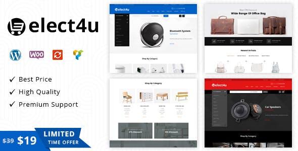 22 - Elect4u - Multipurpose WooCommerce Theme