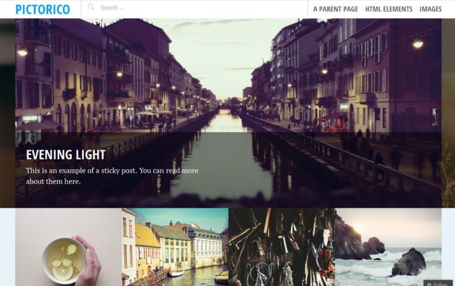 24 - Pictorico Free Photography WordPress Theme