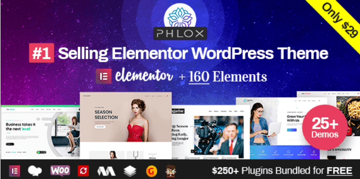 25 - Phlox Pro Elementor MultiPurpose WordPress Theme