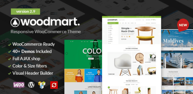 26 - WooMart Responsive WooCommerce WordPress Theme