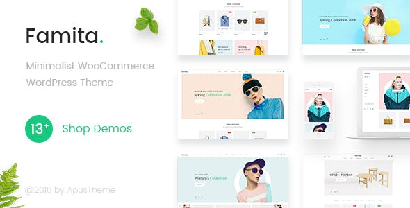 28 - Famita - Minimalist WooCommerce WordPress Theme