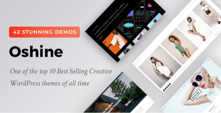 29 - Oshine Multipurpose Creative Theme