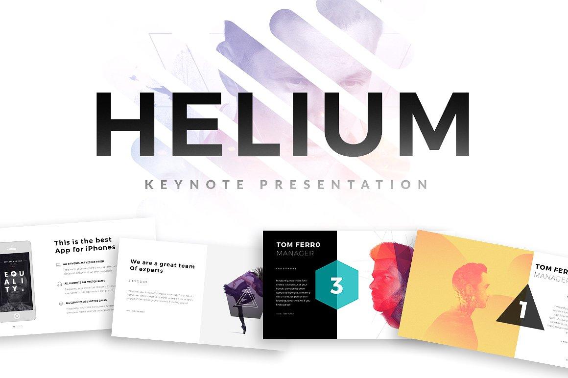 29. Helium Keynote Template