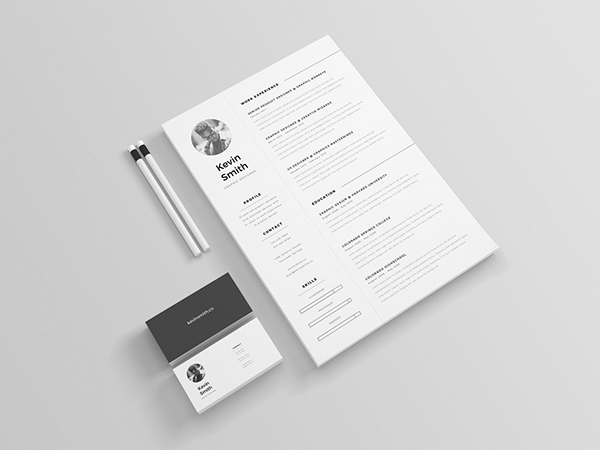 3 - Free Clean and Minimal Resume Template