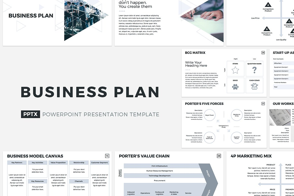 3. Buiness Plan PowerPoint Template