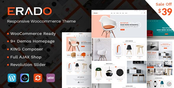 31 - Erado - eCommerce WordPress Theme