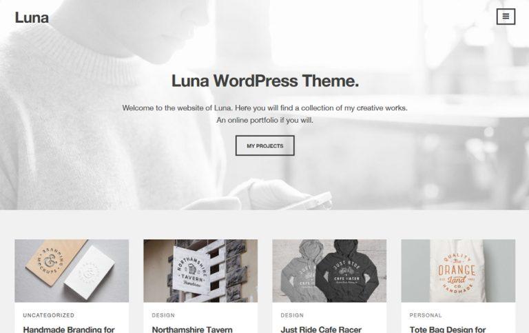 35 - Luna Responsive WordPress Theme