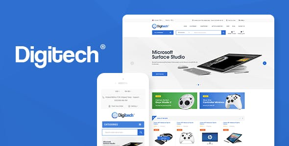 38 - Digitech - Technology Theme for WooCommerce WordPress