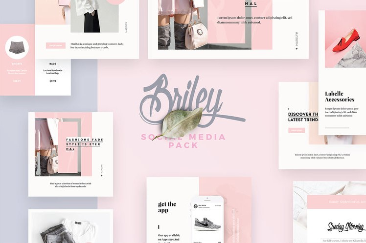 38. Briley Social Media Pack