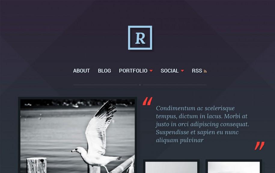 40 - Ravel Free Portfolio WordPress Theme
