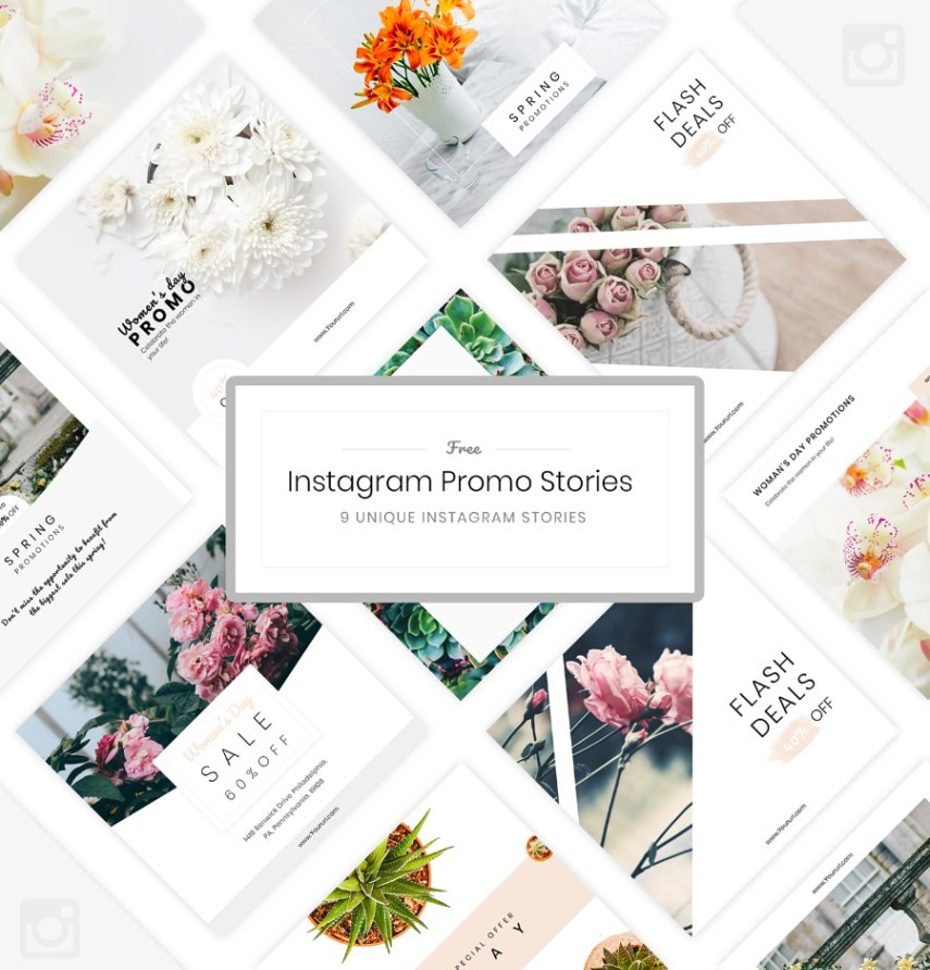 43. Free Instagram Promo Template