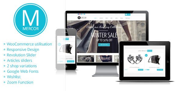 45 - Mercor - Responsive WooCommerce Theme
