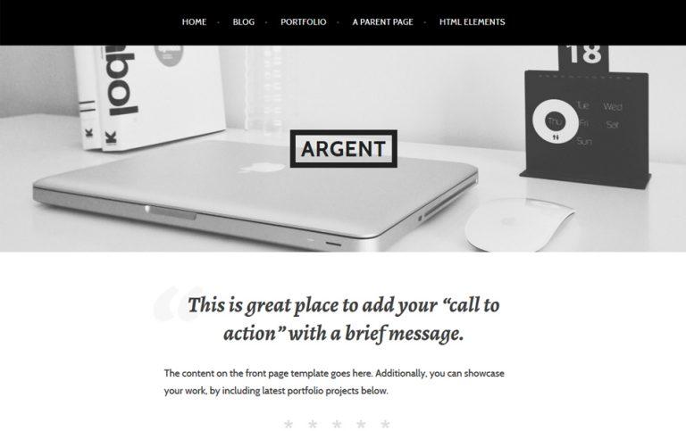 5 - Argent Responsive WordPress Theme