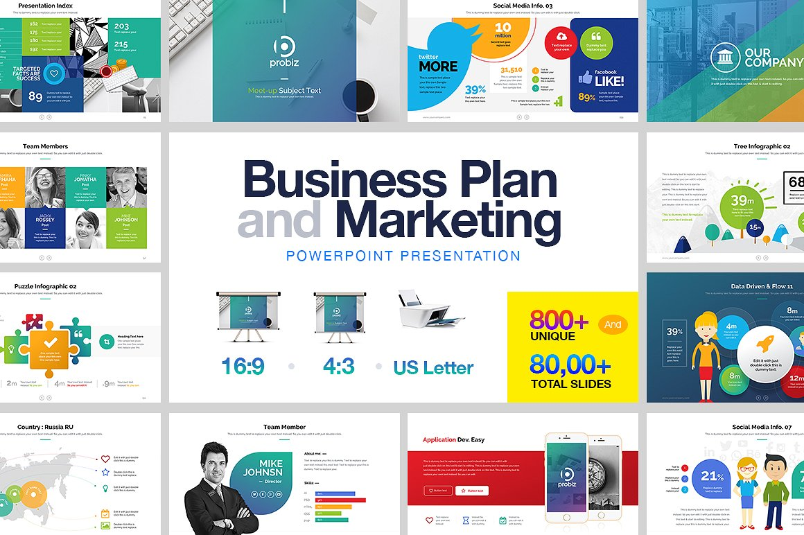 5. Business Plan & Marketing PowerPoint
