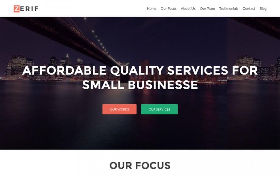 59 - Zerif Lite Free Portfolio WordPress Theme