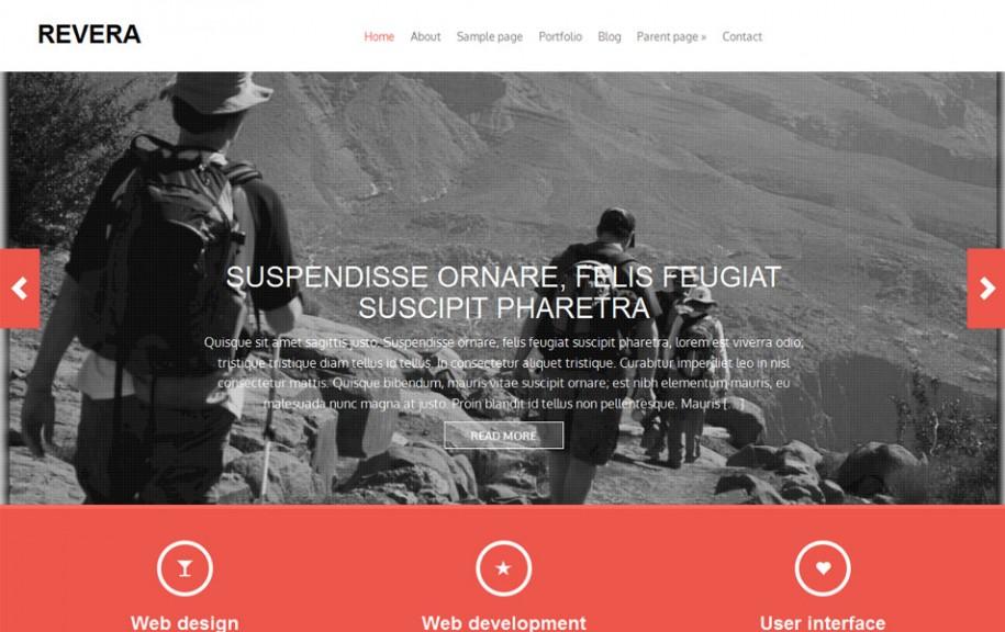 60 - Revera Free Portfolio WordPress Theme