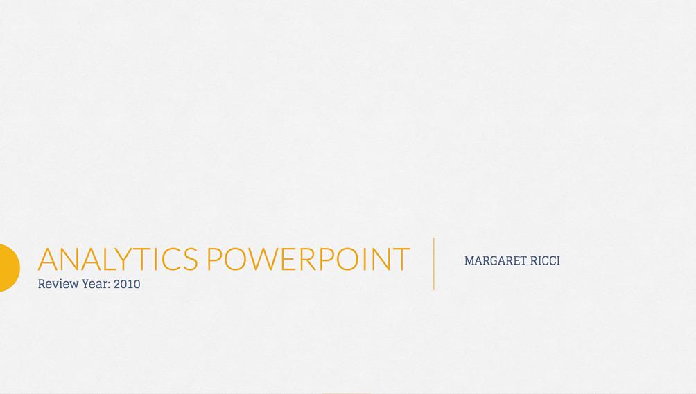 7. Analytix PowerPoint Presentation