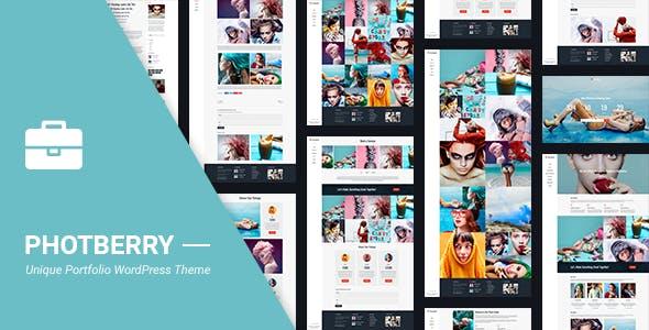 Portfolio Photeberry Portfolio WordPress for Portfolio
