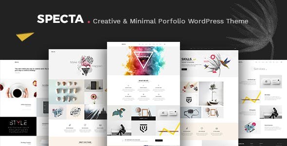 Spectra - Multipurpose Portfolio Theme
