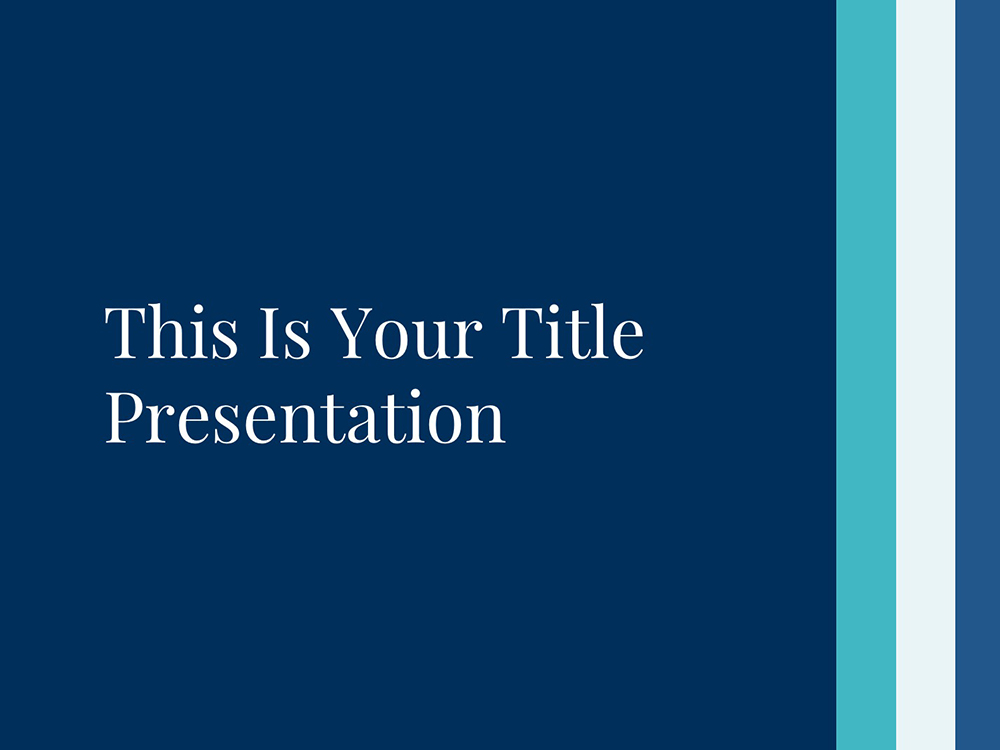 Free PowerPoint Template / Free Apple Keynote / Free Google Slides