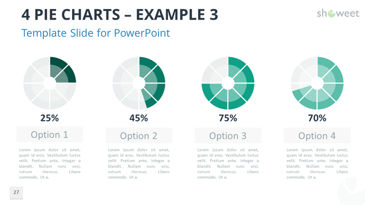 data charts free powerpoint template