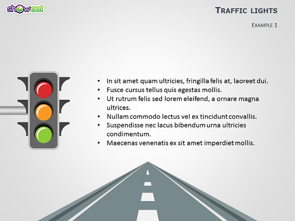 Traffic Lights Free Powerpoint Template