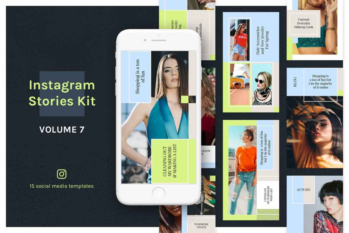 Instagram PSD Templates