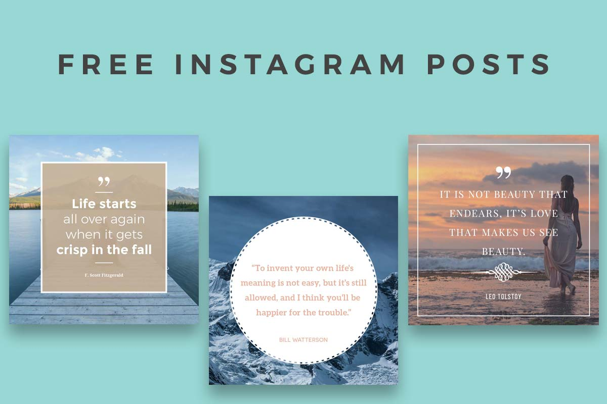 Best Instagram Templates