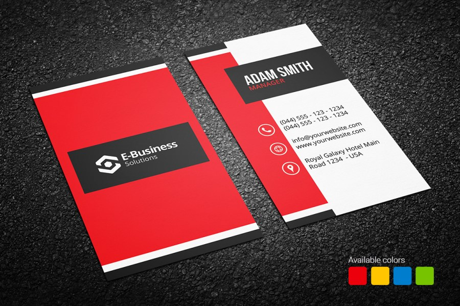 Creative Business Card 16   Graphic Pick Creative Business Card 16