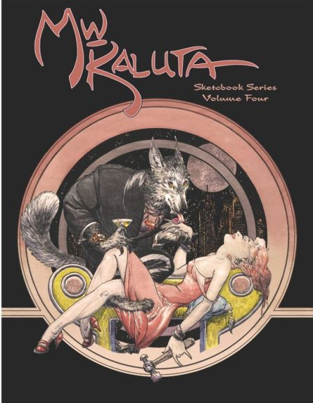 Kaluta sketchbook CVR 4