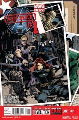 Secret Avengers (2013) #1 cover by Tomm Coker