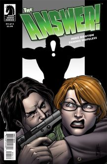 The Answer #4 Cover