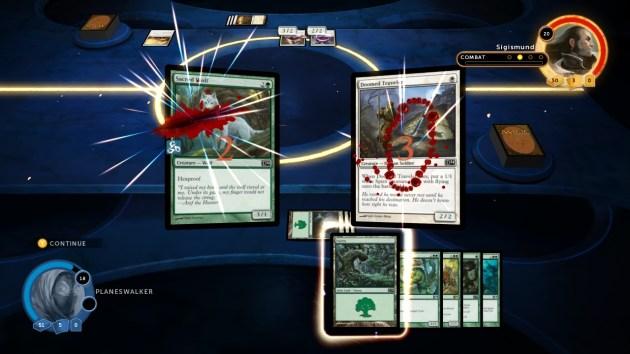 Magic 2014 - XBLA - Combat