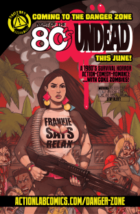 night of the 80s undead #1 cover