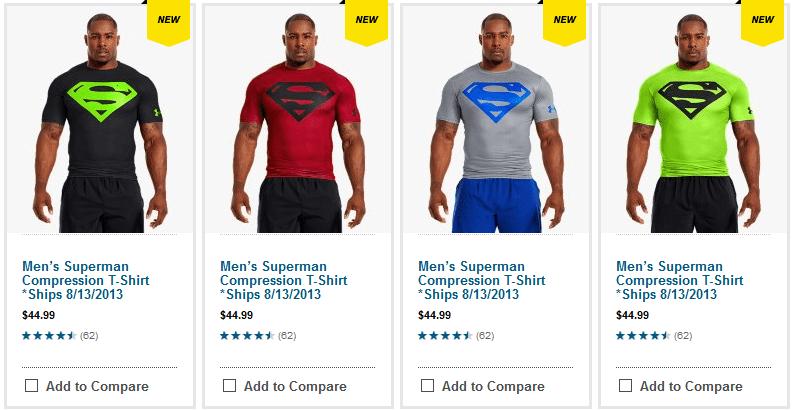 último descuento nuevas imágenes de seleccione para oficial Under Armour Adds Items to Make it Easier to Be a Super Hero ...