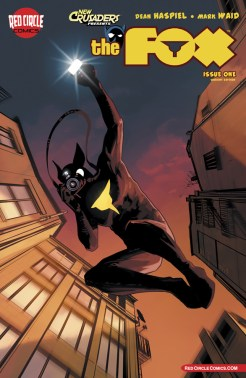 the fox #1 cover