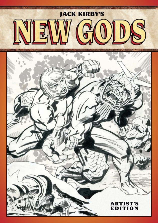 KIRBY NEW GODS COVER