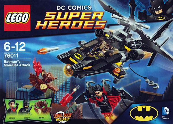 76011 Batman Man-Bat Attack