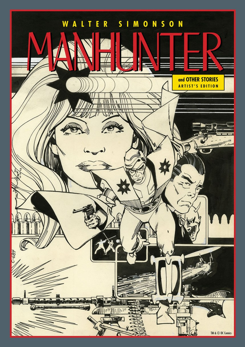 SIMONSON MANHUNTER COVER