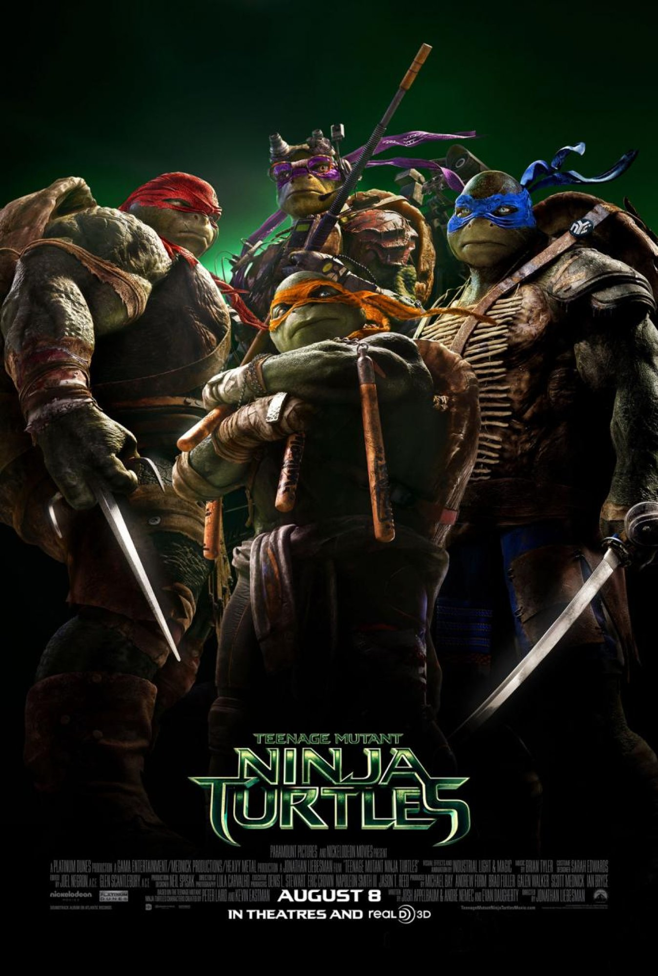 Turtles Slice Guardians at the Box Office
