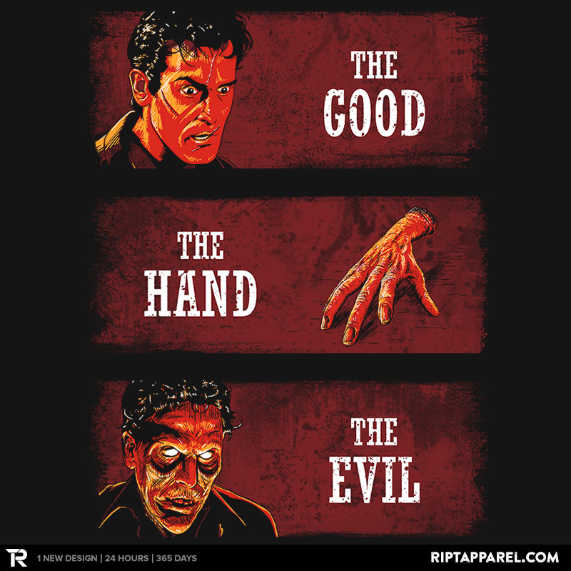 The Good, the Hand and the Evil